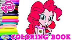 My Little Pony Coloring Book Pinkie Pie Everfree Episode Surprise Egg an...