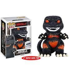 Godzilla burning Pop! Movies Funko POP! Vinyl