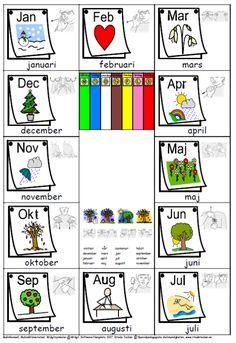 Singing Time, Activities, Comics, School, Schoolgirl, Calendar, Pictures, Sweden, Schools
