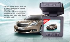 HD Video Night Vision LCD CCTV Camera Recorder In Car DVR Accident 2.5  UK
