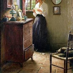 William Kay Blacklock (1872-1924), The Letter