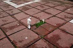 Ruimtelijke streetart, miniatuur.