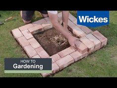 How to Build a Fire Pit with Wickes - YouTube