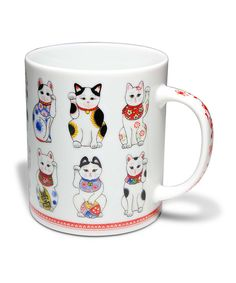 Antique Cat Mug   Daily deals for moms, babies and kids