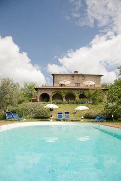 Casa San Carlo - De tuin en het zwembad