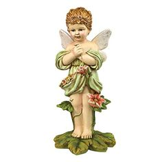 Design Toscano Gertie the English Flower Fairy Statue *** Visit the image link more details.