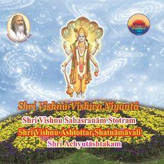 Vedic Arts and Crafts Promotion Pvt. Ltd. भगवान विष्णु नारायण सम्पूर्ण विश्व-ब्रह्माण्ड के प्रशासक हैं। उनका एक नाम अनन्त कोटि ब्रह्माण्ड नायक है। विष्णु जी सर्वव्यापी, सर्वशक्तिमान और सर्वसमर्थ हैं। श्री विष्णु सहस्रनाम विष्णु जी के १००० गुण हैं। उनका प्रत्येक नाम चेतना के एक-एक गुण को दर्शता है और अत्यन्त महिमाकारी है। सहस्रनाम का पाठ करने वाले या श्रवण करने वाले की चेतना में तथा वातावरण में विष्णु जी के इन समस्त गुणों का जागरण होता है। Arts And Crafts, Movie Posters, Film Poster, Art And Craft, Billboard, Film Posters, Art Crafts, Crafting
