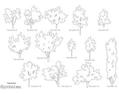 Architecture Drawing Of Trees architectural tree sketches trees, tree sketches and student