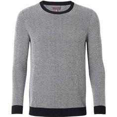 Zanone crew neck jumper | Mens Crewneck Sweaters | Pinterest