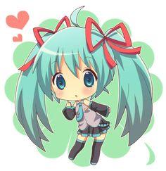 Miku Chibi Picture From Hatsune