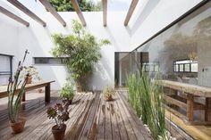 Patio tuin als middelpunt van het huis   HOMEASE