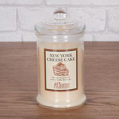 New York Cheesecake Candle Jar