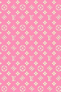 iPhone Wallpaper - Louis Vuitton Pink