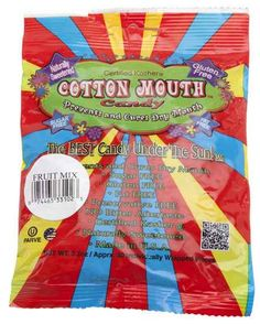 These candies that eliminate cotton mouth.
