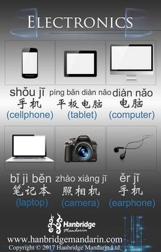 electronics in Chinese