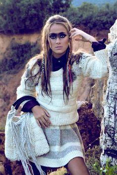 Gloria Bendita. Maquillaje Laura Morilla.
