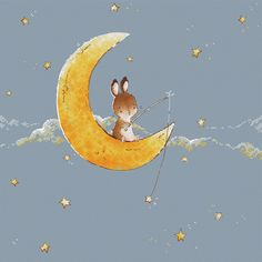 Moon Bunny cross stitch pattern Bunny on the Moon cross stitch for baby birth record cross stitch pattern by SVStitch Elephant Cross Stitch, Cute Cross Stitch, Counted Cross Stitch Patterns, Embroidery Stitches Tutorial, Machine Embroidery Designs, French Knot Stitch, French Knots, Cross Stitch Tutorial, Birth Records