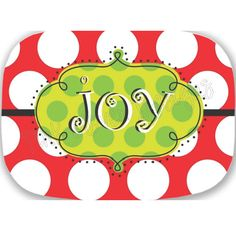 """""""Joy"""" Platter"""