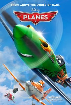 Here's the new poster for Disney's Planes, in theaters August 9! Meet the characters: http://on.fb.me/YgfUqh
