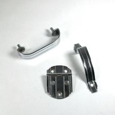 1940s Chrome Kitchen Cabinet/Drawer Hardware
