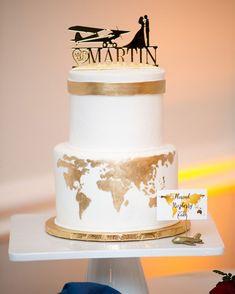 Unique Wedding Cakes | Orange Blossom Bride