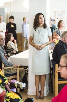 Dagcentret Strødammens 50-års jubilæum   Kronprinsessen deltog i jubilæet i sin egenskab af protektor for både Hjernesagen og Hjerneskadeforeningen.