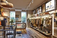 """A Look Inside Nigel Cabourn's """"The Army Gym"""" Store in London"""