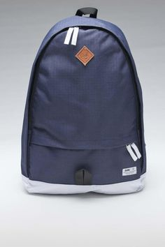 Weekend Nylon Ripstop Backpack Navy / by Durkl