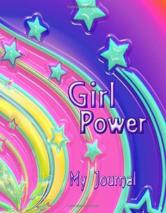 Girl Power: Stars and Swirls Design Notebook/Journal for Girls with 110 Lined Pages x My Journal, Journal Notebook, Journals, Notebooks, Indie Books, Swirl Design, Lined Page, Journal Inspiration, Swirls