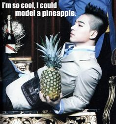 #taeyang #pineapple #sol Come visit kpopcity.net for the largest discount fashion store in the world!!