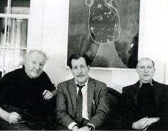 Hans Hofmann, Franz Kline and Jack Tworkov, Provincetown 1959