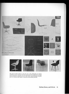 #Eames @museummodernart  Prize Designs for Modern Furniture, Book