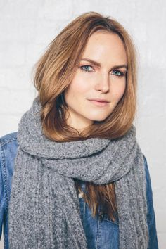 FREE knitting pattern for beginners - Unisex textured scarf by Sarah Hatton. Download from LoveKnitting