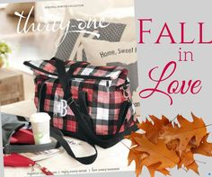 Fall in love with the new Thirty-One Fall/Winter 2016 catalog!  Go live is August 1, 2016!!!  www.mythirtyone.com/TatumCameron