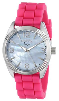 Invicta Women's 15878 Angel Blue Mother of Pearl Dial Pink Strap Watch Invicta,http://www.amazon.com/dp/B00HJH3K2W/ref=cm_sw_r_pi_dp_y1p8sb0VHFH7EDSW