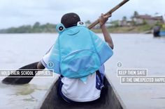 These School Backpacks for Colombian Kids Double as Lifejackets - Print (video) - Creativity Online