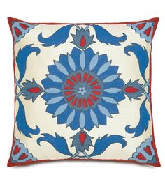 Islamic Tile Work Pillow