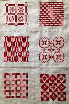 X-Stitch Pillow Embroidery, Wool Embroidery, Hardanger Embroidery, Embroidery Stitches, Embroidery Patterns, Cross Stitch Borders, Cross Stitch Charts, Cross Stitch Designs, Cross Stitching