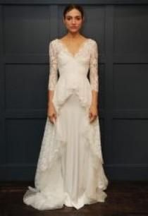 Temperley Bridal Winter 2015 Wedding Dresses Are Full Of Simple, Sweet Designs