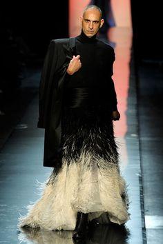 Gaultier Muse, Model and Collaborator Tanel Bedrossiantz, Jean Paul Gaultier Fall/Winter 2011 Haute Couture
