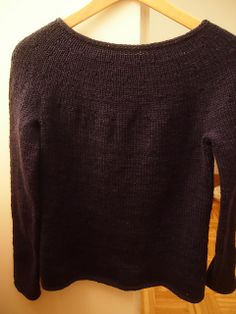 Simplest Sweater free pattern