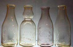 Glass Milk Bottles, Milk Glass, Churning Butter, Decor, Milk Bottles, Life, Decoration, Decorating, Deco