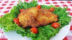 Χοιρινές μπριζόλες μαριναρισμένες με μαγιονέζα, μουστάρδα και πορτοκάλι, με κρούστα παρμεζάνας και μείγμα μπαχαρικών βεγκέτα. Συνταγή για μπριζόλες πανέ. Allrecipes, Turkey, Chicken, Meat, Food, Turkey Country, Essen, Meals, Yemek