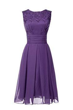 Magydre Women's Jewel Strapless Ruffle Empire A -Line Chiffon Bridesmaid Dress Dark Purple US12 Magydre http://www.amazon.com/dp/B011I8GO02/ref=cm_sw_r_pi_dp_5Vprwb0C422RY
