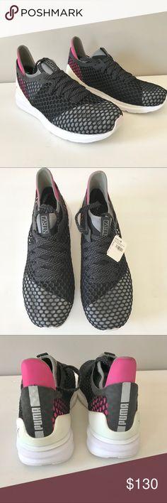 Puma ignite limitless netfit trainer sneaker black NWT