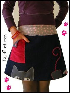 Amazing Sewing Patterns Clone Your Clothes Ideas. Enchanting Sewing Patterns Clone Your Clothes Ideas. Altered Couture, Diy Clothing, Sewing Clothes, Kids Outfits, Cool Outfits, Diy Fashion, Womens Fashion, Handmade Skirts, Couture Sewing