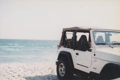 Nothing like a Jeep at the beach