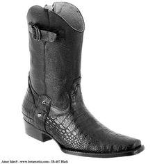 Joe Boots - JB-407 - Botas Exóticas para Hombre Joe Boots - Exotic boots for Men / Joe Boots - Botas Exóticas para Hombre. Botas exóticas para caballero, Bota Casual Piel de Caiman / Cayman Leather ( Clon ). Tallas Disponibles: del 6 al 11 / Available Sizes: 6 - 11 Joe Boots - Botas Exóticas para Hombres - Venta solamente en USA. Exotic Boots for Men For sale only in the United States. El precio incluye impuestos de venta (Sales Tax) y costo de envio dentro de Estados Unidos B...