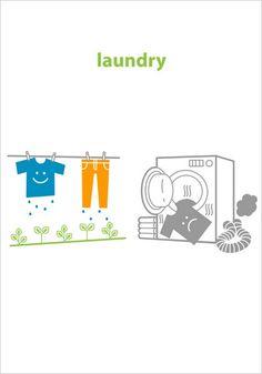 kitchen ecology: laundry