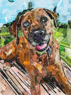 Original art Custom portrait Painting From Photo Custom Watercolor Pet Portrait Commission work Painting dog Hire an artist